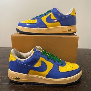 Nike Air Force 1 Premium 'Brazil World Cup' Size 9